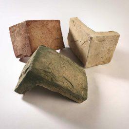 Piedra Castillo Europeo Bronce Esquina