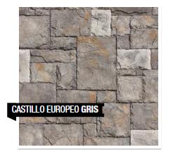 Piedra Castillo Europeo Gris