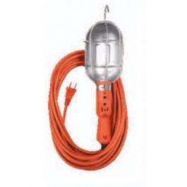 Extensión de Uso Rudo con lampara de taller  2×18 30 mts