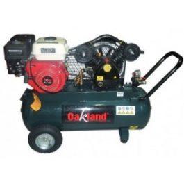 Compresor a 6.5 Hp motor a gasolina.
