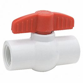 Válvula Esferica PVC Roscada 1/2″