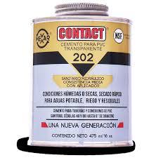 Contact Dorado 1/4 Cemento PVC.