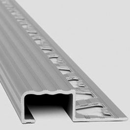 Tira de Aluminio 30 x 8 mm  largo 2.5 mts.