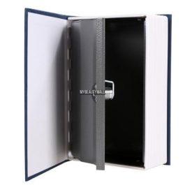 Caja de seguridad forma de libro