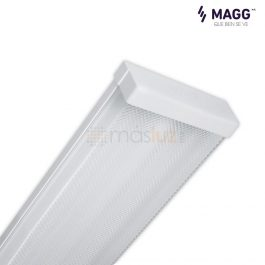 Gabinete para luminaria led T8, 1.20 m