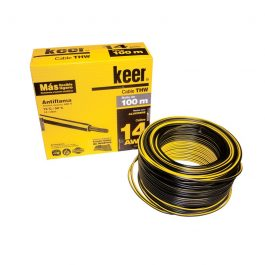 Cable Keer THW 14 negro 100m