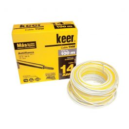 Cable Keer THW 14 blanco 100m