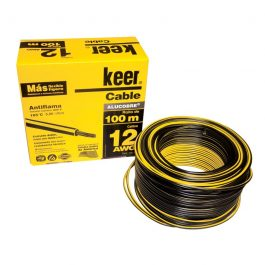 Cable Keer THW 12 negro 100m