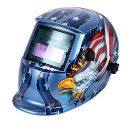 Careta Eléctrica azul águila.